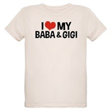 I Love My Baba and Gigi T-Shirt