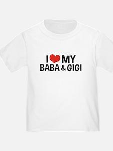 I Love My Baba and Gigi T