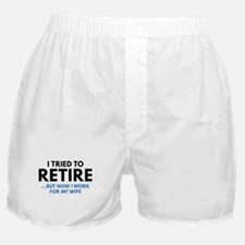 I Tried To Retire Boxer Shorts