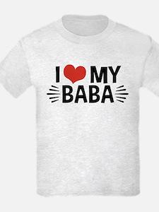 I Love My Baba T-Shirt