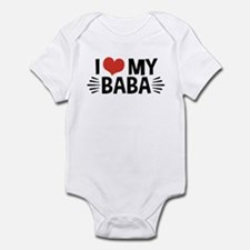 I Love My Baba Infant Bodysuit