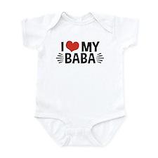 I Love My Baba Onesie
