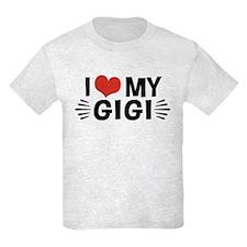 I Love My Gigi T-Shirt