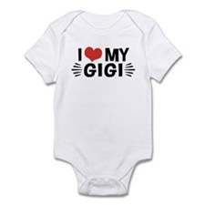 I Love My Gigi Infant Bodysuit