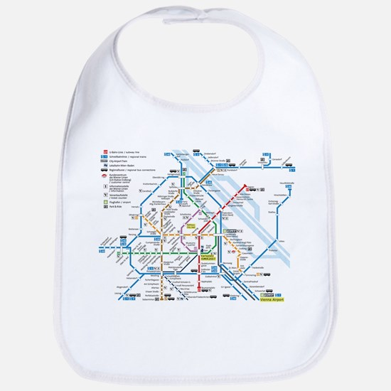 Vienna Metro Map Bib