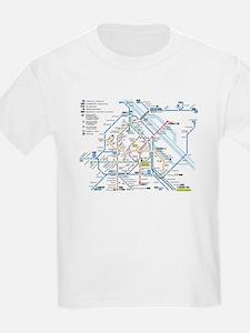 Vienna Metro Map T-Shirt