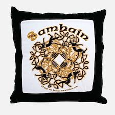 Samhain II Throw Pillow
