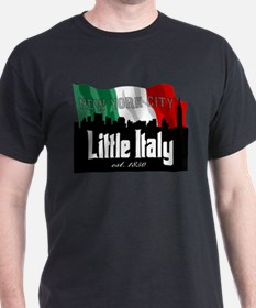 """New York's Little Italy"" T-Shirt"