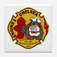 Chelsea Engine 1 Tile Coaster
