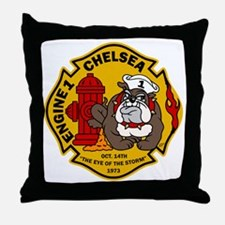 Chelsea Engine 1 Throw Pillow