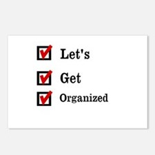 Get Organized Month Postcards (Package of 8)