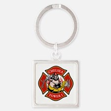 Chelsea Tower 1 Square Keychain