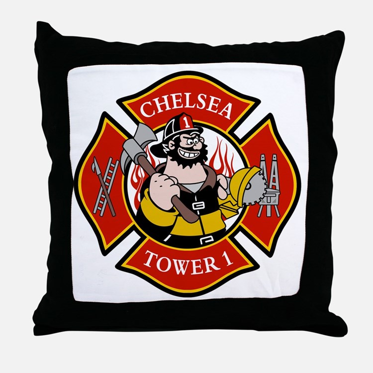 Chelsea Tower 1 Throw Pillow