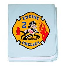 Chelsea Engine 2 baby blanket