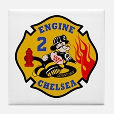 Chelsea Engine 2 Tile Coaster