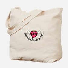 Nurses Touch Tote Bag
