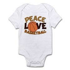 Love Basketball Infant Bodysuit