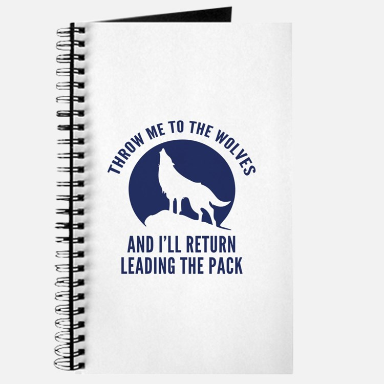 Throw Me To The Wolves Journal