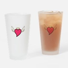 Winged Heart Drinking Glass