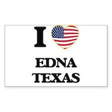 I love Edna Texas Decal
