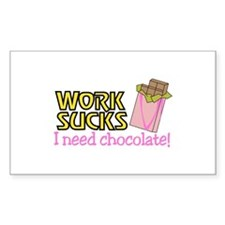 I Need Chocolate Decal