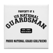Proud National Guard GF Tile Coaster