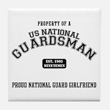 Proud National Guard GF Tile Coaster