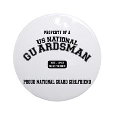 Proud National Guard GF Ornament (Round)