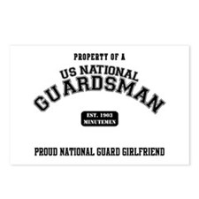 Proud National Guard GF Postcards (Package of 8)
