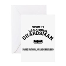 Proud National Guard GF Greeting Card