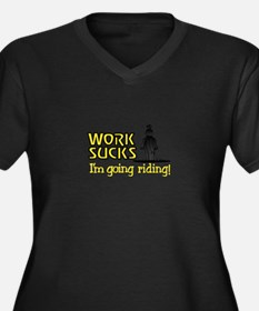 Going Riding Plus Size T-Shirt