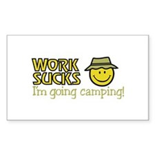 Going Camping Decal