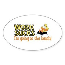 Going To the Beach Decal