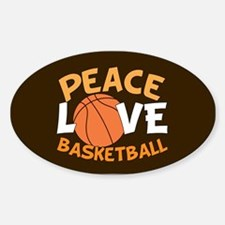 Love Basketball Bumper Stickers