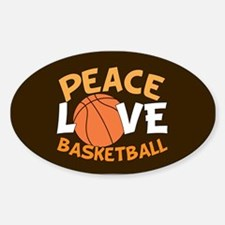 Love Basketball Decal