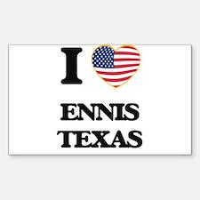 I love Ennis Texas Decal