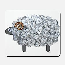 Fluffy Sheep Mousepad