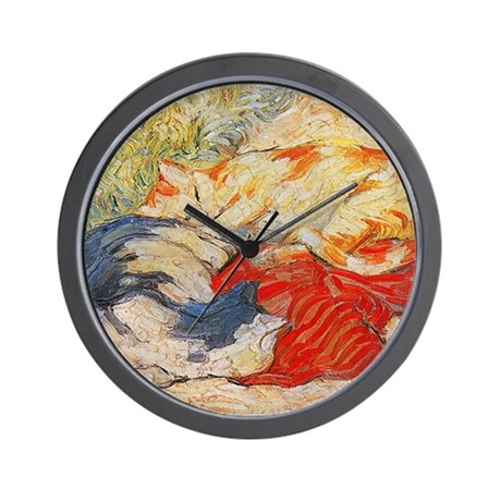 Cats by Franz Marc Wall Clock