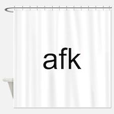 A.F.K. Shower Curtain