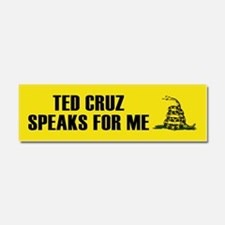 Ted Cruz Speaks For Me Car Magnet 10 x 3