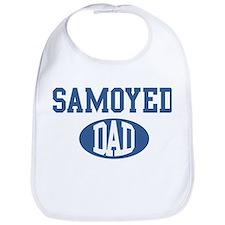 Samoyed dad Bib