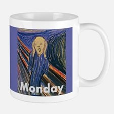 Monday - The Scream by Edvard Munch Mugs