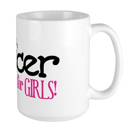 Silly Boys, Soccer Is For Girls - Large Mug