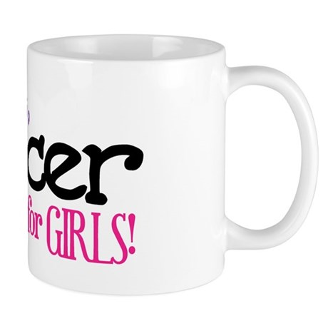 Silly Boys, Soccer Is For Girls - Mug