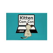 Kitten Cam Con Fridge Magnet Magnets