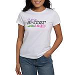 Silly Boys, Soccer Is For Girls - Women's T-Shirt
