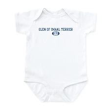 Glen of Imaal Terrier dad Infant Bodysuit