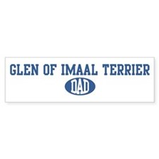 Glen of Imaal Terrier dad Bumper Bumper Sticker