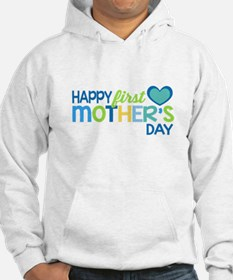 Happy First Mother's Day Boy Hoodie
