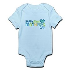 Happy First Mother's Day Boy Body Suit